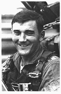 Joseph Ygnacio Echanis was born October 6, 1937. Home city of record is Portland, Oregon. He was lost as Missing in Action November 5, 1969 in Laos, serving with the 497th Tactical Fighter Squadron.