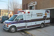 The ambulance service is staffed with volunteer certified EMTs and Paramedics.