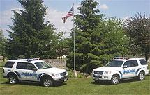 The Clarksville Police Department has 2 fulltime police officers providing 24 hour protection.