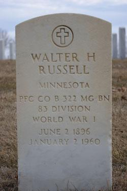 Walter H Russell
