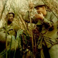 PFC Robert Jenkins, left (KIA 3-5-69) Daniel Tirado, right (KIA 5-7-69)