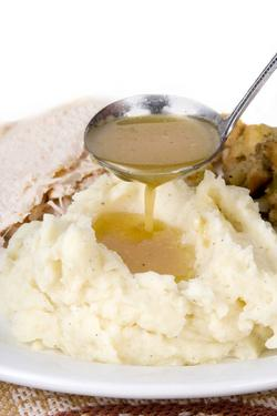 Click Here for Rick Rodgers Best Turkey Gravy...