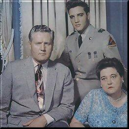 Elvis' mother died in 1958, at the time when Elvis was at the start of his career. When Elvis got the news of her death,he rushed to the hospital where she had been on observation for hepatitis. No one No relatives, friends or Elvis' father - could come through the condition of a total riot of minds that Elvis had at this time.