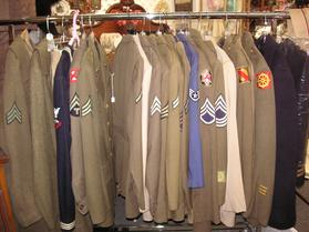 ww2 uniforms american at West Saint Paul Antiques