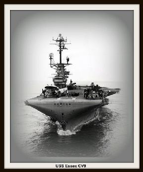This website is in honor of the USS Essex CV9, and the airmen  that served  in her during  the War in  the Pacific from 1943 to 1945.