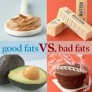 The Good and Bad Fats ` Click Here