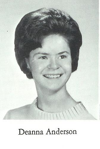 Deanna M. Anderson ~ Class of '66