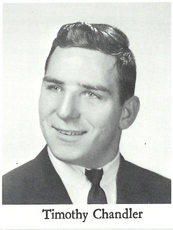 Timothy Chandler  ~ Class of '66