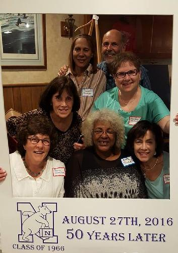 Pennie Schmitzer-Shapiro, Mary Rivers-Smith, Joanne Prass-Jones, Bonnie Smith, Davidene Walensky-Weinberg, Roberta Buckney-Johnson & Billy Binder