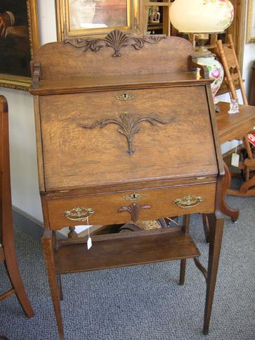 Oak Secretary Desk West St Paul Antiques