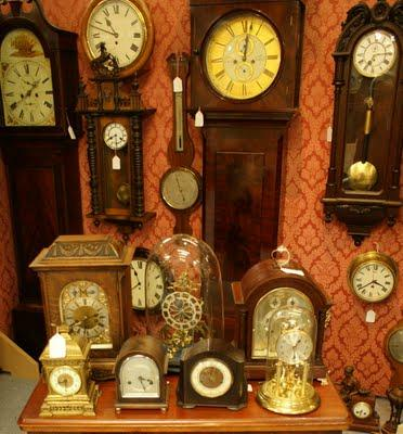 Click here for our Clock Museum.
