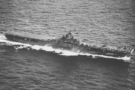 USS ESSEX CV-9 and our page on WORLD WAR II (Click Here)
