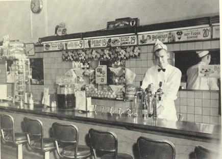 Click Here for the History of the Golden Age of Soda Fountains.