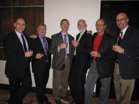 With Steve Rosen, Arnold Seltzer, Jim Bukstein, Bill Broze and Allen Bernard.