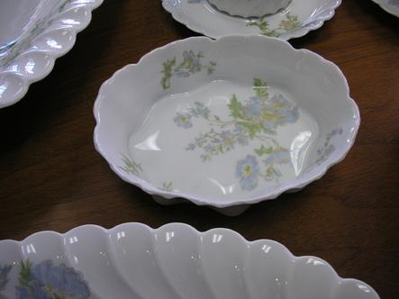 "Haviland Limoges Margaux 5 3/4"" Small Serving Bowl"