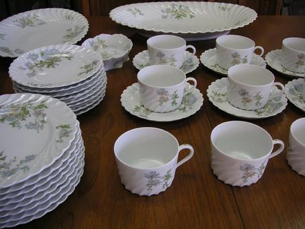 "53 pcs. of Haviland Limoges ""Margaux"""