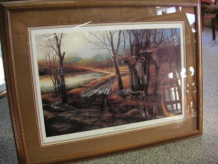 Terry Redlin - Rural Route Artist Proof