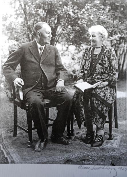 Rasmus and Margrethe Hanson 1920's
