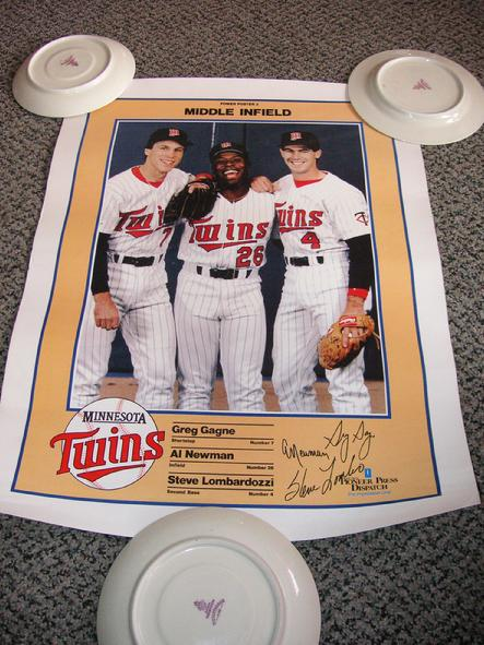 Power Poster 3 - Middle Infield - Greg Gagne, Al Newman and Steve Lombardozzi