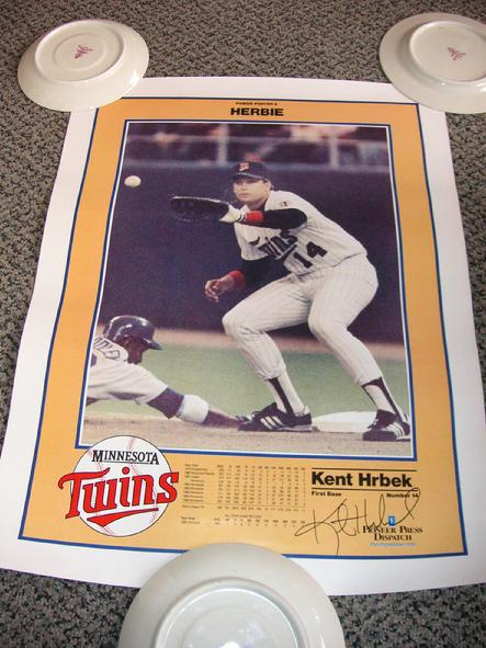 Power Poster 4 - Kent Hrbek