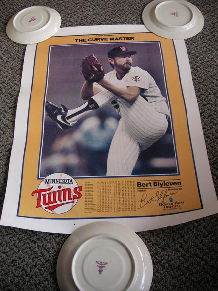 Power Poster 5 - Bert Blyleven