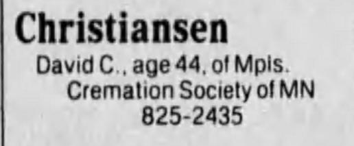 From Star and Tribune Sunday May 16th, 1993