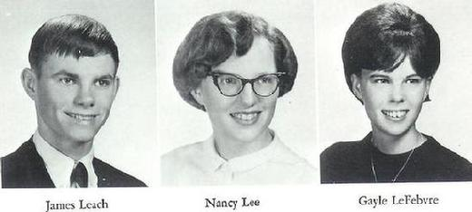 James Leach, Nancy Lee & Gayle Lefebvre of the class of 66' from North High School Minneaplis, Mn.