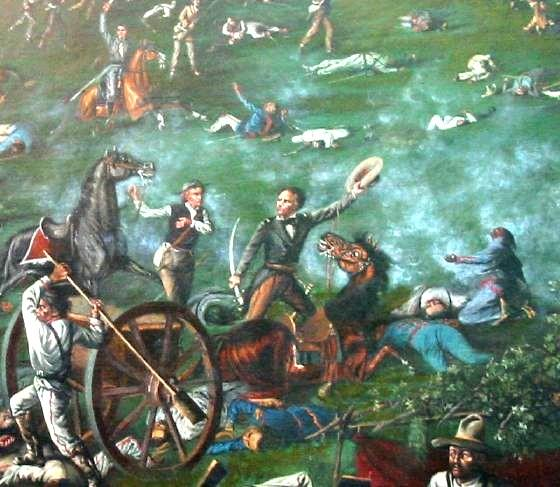 Click here for The Texas Revolution or Texas War of Independence was a military conflict between Mexico and settlers in the Texas portion of the Mexican state Coahuila y Tejas.