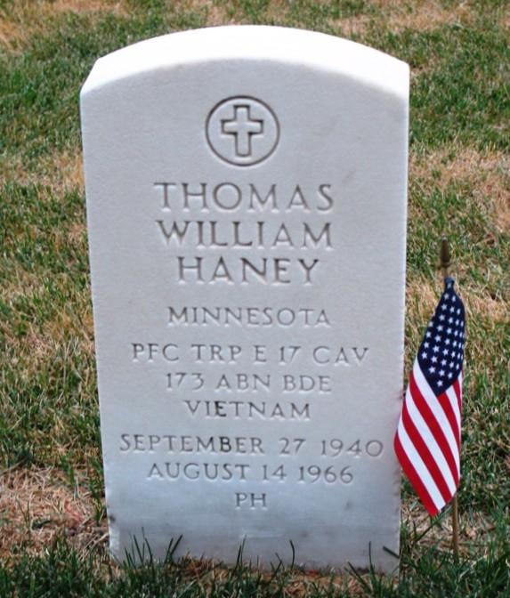 "Thomas William ""Tom"" Haney - Vietnam"