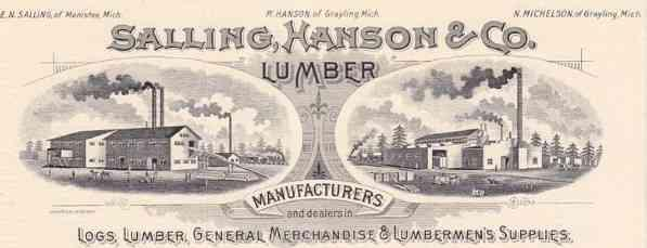 Hanson and Company lumber firm.