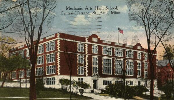 Mechanic Arts High School of Saint Paul, Minnesota (1898 - 1976)