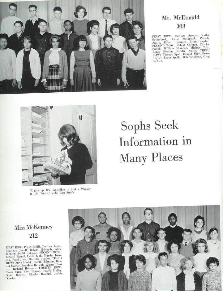 1964 Yearbook pages 102-115