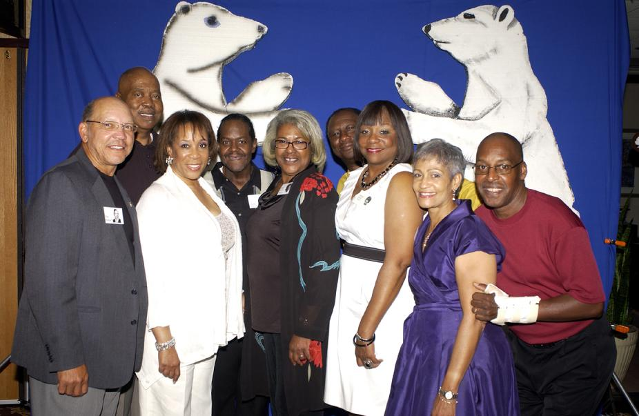 "Ron Hunter, Barbara McGee, Mary Rivers, Sandra McGee, Gloria Reess, Steven Sudduth, Marion ""Sonny"" Thibodeaux, Duane Witherspoon & James Marshall"