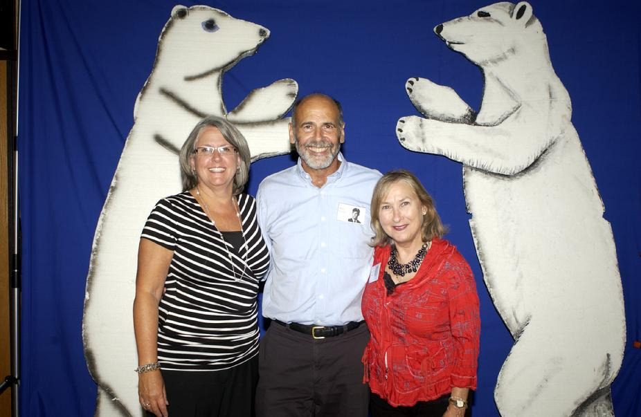 Marilyn (Wolk) Paulson, Billy Binder & Linda (Margolis) Ettedgui 2011