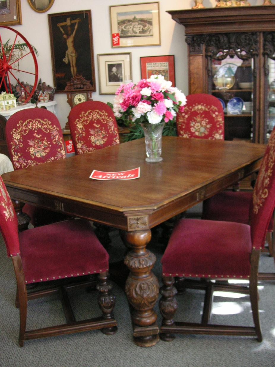 The Hanson House Grand Dining Room Set