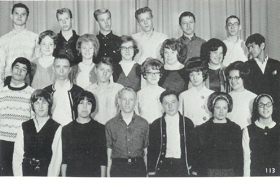 Mr Sovell Sophomore Class 1964
