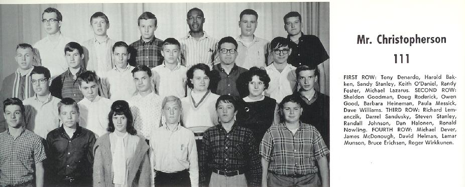 Minneapolis North High - 1965