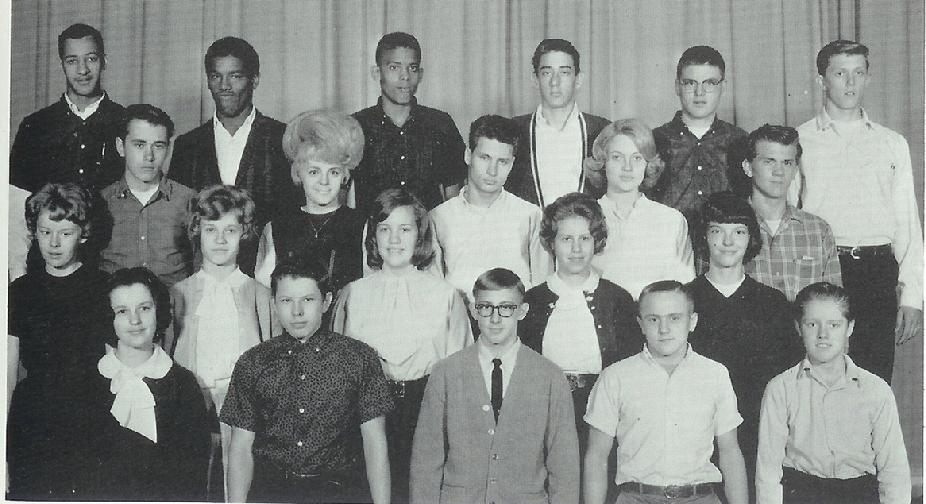 Steven Peterson Home Room. North High School Sophomore Class  1965.