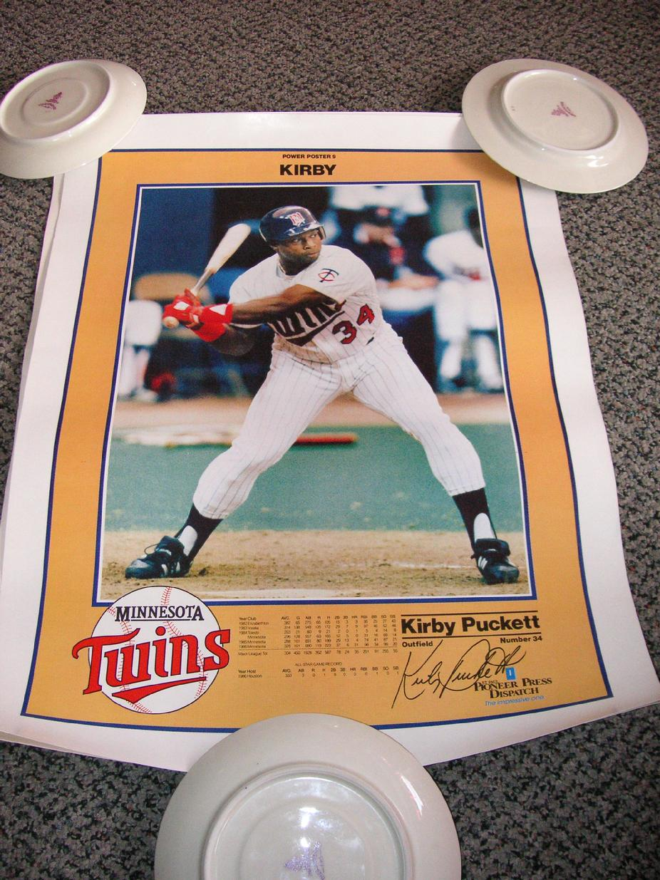 Power Poster 9 - Kirby Puckett